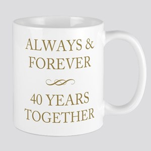 40 Years Together Mug