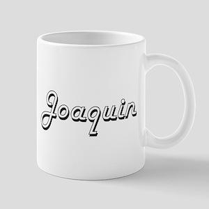 Joaquin Classic Style Name Mugs