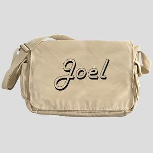 Joel Classic Style Name Messenger Bag