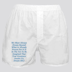 The Yet To Be Imagined Boxer Shorts