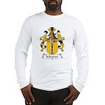 Menzer Family Crest Long Sleeve T-Shirt