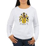 Menzer Family Crest Women's Long Sleeve T-Shirt