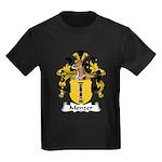 Menzer Family Crest Kids Dark T-Shirt