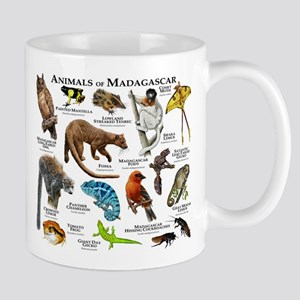 Animals of Madagascar Mug