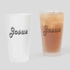 Josue Classic Style Name Drinking Glass
