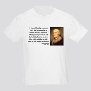 Thomas Jefferson 23 Kids Light T-Shirt
