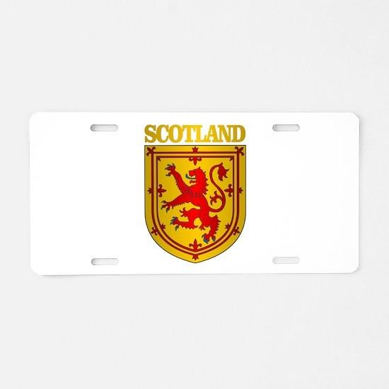 Scotland (COA) Aluminum License Plate