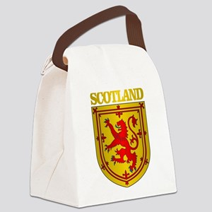 Scotland (COA) Canvas Lunch Bag