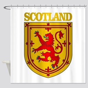 Scotland (COA) Shower Curtain
