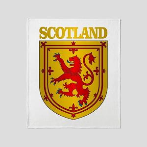 Scotland (COA) Throw Blanket