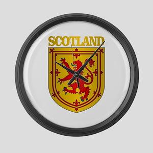 Scotland (COA) Large Wall Clock