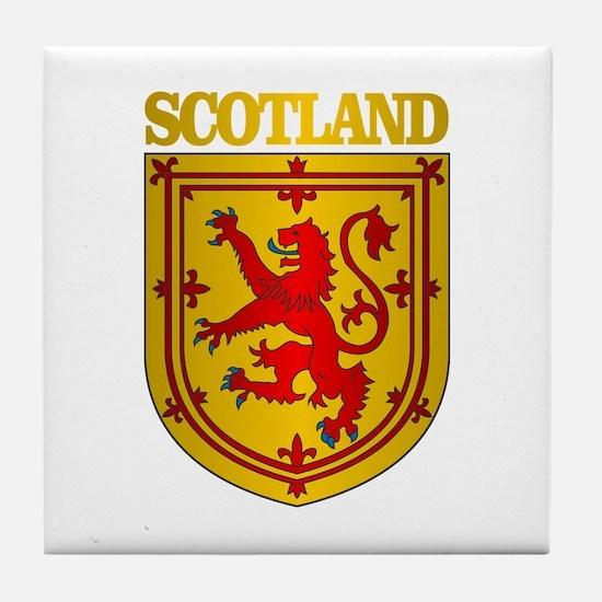 Scotland (COA) Tile Coaster