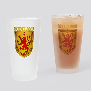 Scotland (COA) Drinking Glass