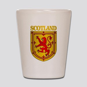 Scotland (COA) Shot Glass