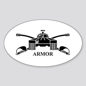 Armor Oval Sticker