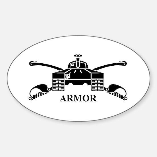Armor Oval Decal
