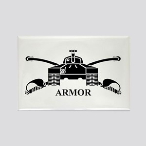 Armor Rectangle Magnet