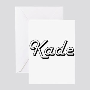 Kade Classic Style Name Greeting Cards