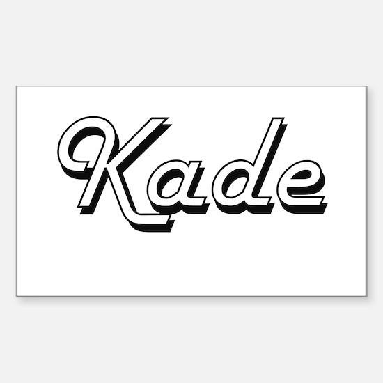Kade Classic Style Name Decal