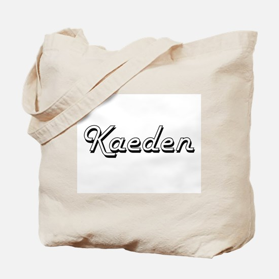 Kaeden Classic Style Name Tote Bag
