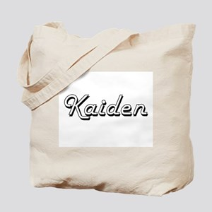 Kaiden Classic Style Name Tote Bag
