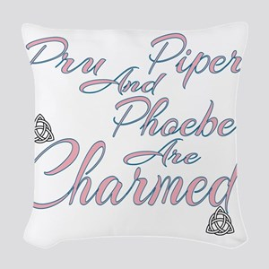 Charmed Characters Woven Throw Pillow