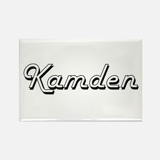 Kamden Classic Style Name Magnets
