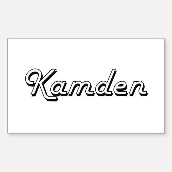 Kamden Classic Style Name Decal