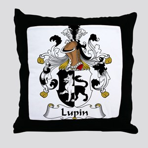 Lupin Family Crest Throw Pillow