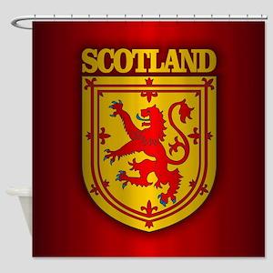 Scotland (COA) Shower Curtain