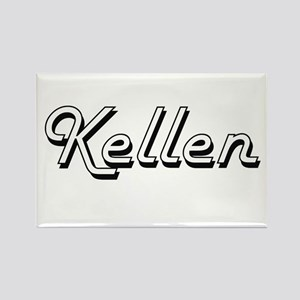 Kellen Classic Style Name Magnets