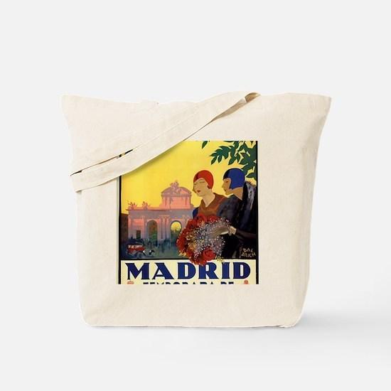 Funny Espana Tote Bag