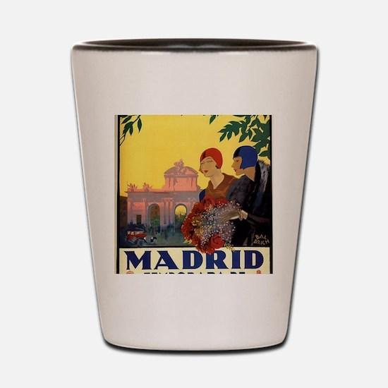 Cute Spain Shot Glass
