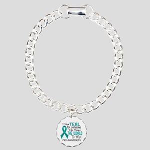 PKD MeansWorldToMe2 Charm Bracelet, One Charm