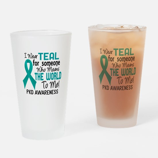 PKD MeansWorldToMe2 Drinking Glass