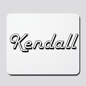 Kendall Classic Style Name Mousepad