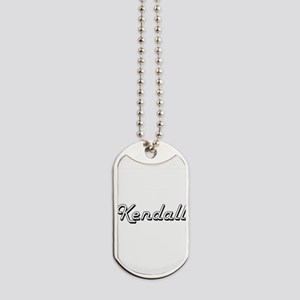 Kendall Classic Style Name Dog Tags