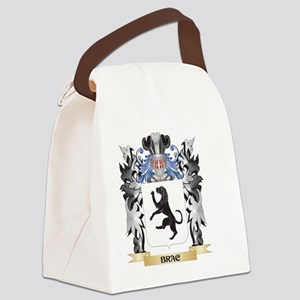 Brac Coat of Arms - Family Crest Canvas Lunch Bag