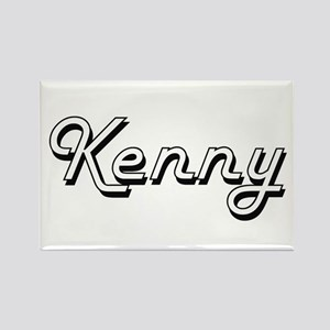 Kenny Classic Style Name Magnets