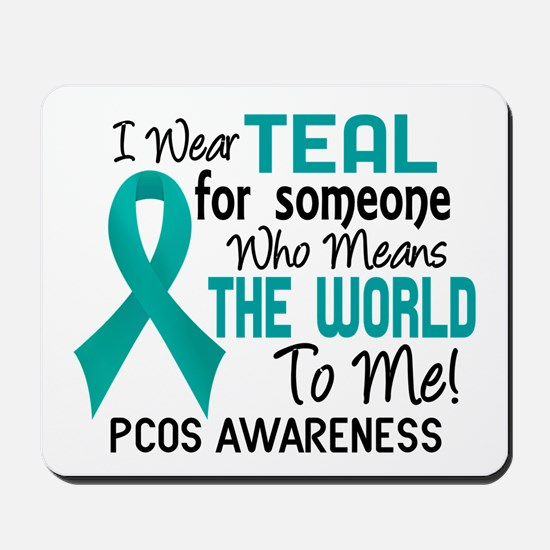 PCOS MeansWorldToMe2 Mousepad