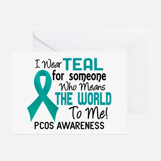 PCOS MeansWorldToMe2 Greeting Card