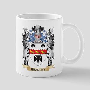Bradley Coat of Arms - Family Crest Mugs