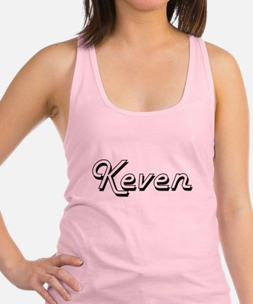 Keven Classic Style Name Racerback Tank Top