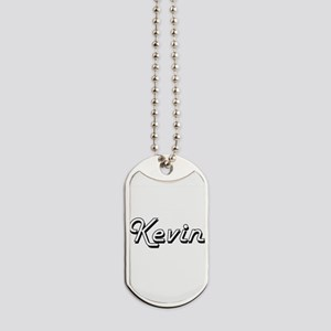 Kevin Classic Style Name Dog Tags