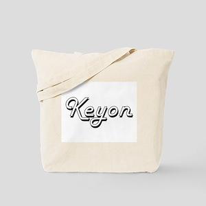 Keyon Classic Style Name Tote Bag