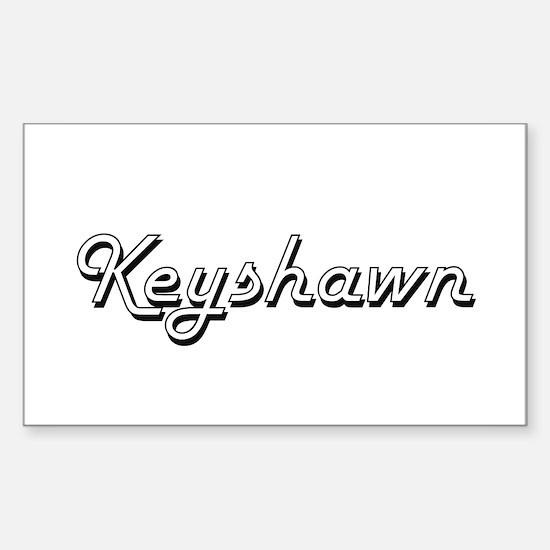 Keyshawn Classic Style Name Decal