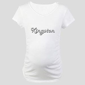 Kingston Classic Style Name Maternity T-Shirt