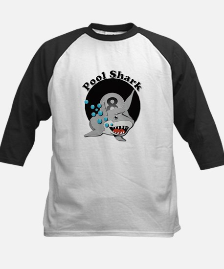 Eight Ball Pool Shark Baseball Jersey