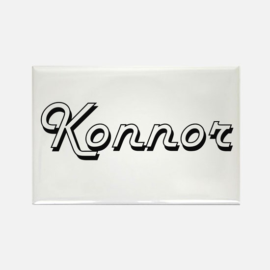 Konnor Classic Style Name Magnets