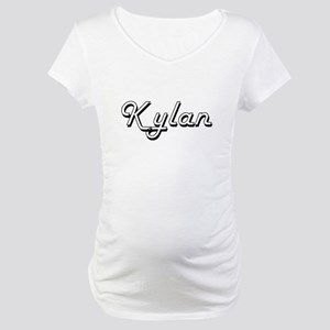 Kylan Classic Style Name Maternity T-Shirt